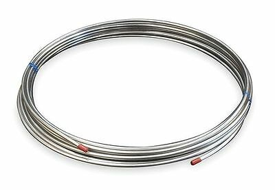 "3/8"" OD x 50 ft. Welded 304 Stainless Steel Coil Tubing, 3ADC9"