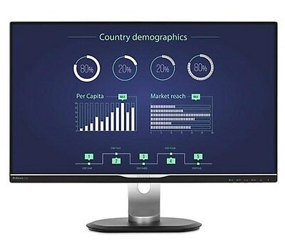 """Philips (25"""" Inch) LCD Monitor with USB-C Dock 16:9 2560 x 1440 5ms 350 cd/m2"""
