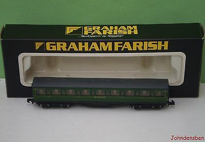 Graham Farish N Gauge Boxed Sr Green Mainline Coach #2