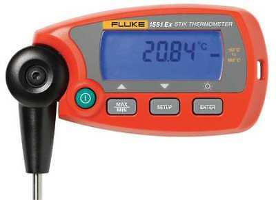 HART 1551A-12 RTD Thermometer,-58 to 320F,Digital