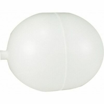 KERICK VALVE PF45 Float Ball, Oblong, Polyethylene, 4 In