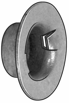 """5/8"""" Steel Zinc Plated Finish Washer Cap Nuts, 25 pk., PW625019-598"""