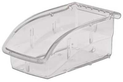 "Clear Hang and Stack Bin, 7-3/8""L x 4-1/8""W x 3-1/4""H AKRO-MILS 305A3"