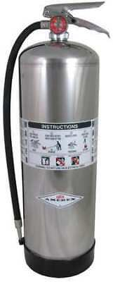Fire Extinguisher, 2.5 gal. Capacity, Water Fire Extinguisher, 240, Amerex