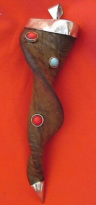 Tantric Buddhist Carved Horn Himalayan Shaman Pendant From Nepal