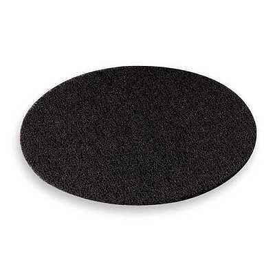3M 7300 Stripping Pad, 15 In, Black, PK 5