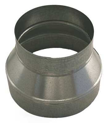 "Ductmate 14"" x 12"" Round Reducer Duct Fitting, 26 ga., GRR14P12PGA26"