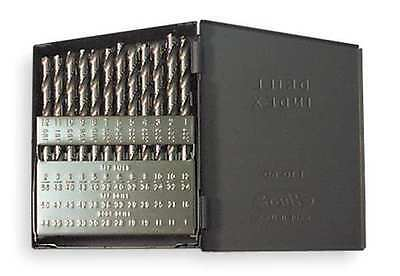 CHICAGO-LATROBE 69885 Screw Mach Drill Set, Heavy Dty, 60 PC, HSS