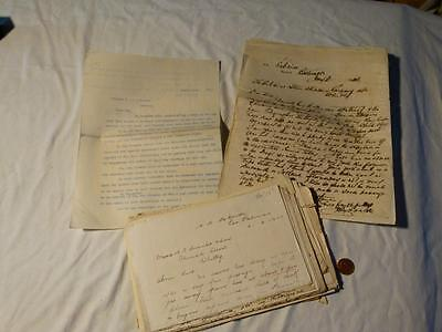Antique 19thC ESKSIDE STEAMSHIP Co - SMALES Whitby Yorkshire Letters Archive