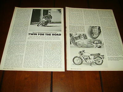 1975 Norton 850 -Twin For The Road -    ***original  Article***