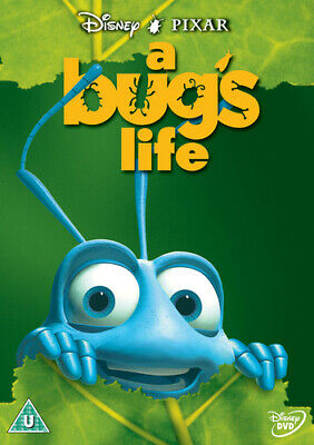 A Bug's Life DVD (2001) John Lasseter cert U Incredible Value and Free Shipping!