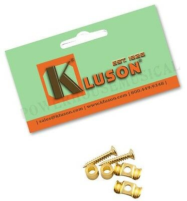 Kluson Vintage String Tree Guides For Fender Strat Guitar Gold (2) *new*