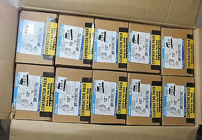 """250 New Thomas & Betts 90° 1/2"""" Clamp Type Armored Conduit/ Cable Connectors"""