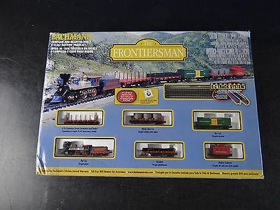 Bachmann  N Scale The Frontiersman RTR Electric Freight Train Set 24006 EZ Track