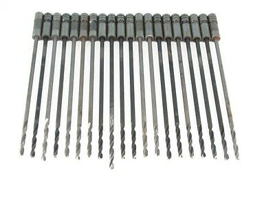 "20  Drill Bits - #30  - (.128"") 6"" HSS & Cobalt Combination"