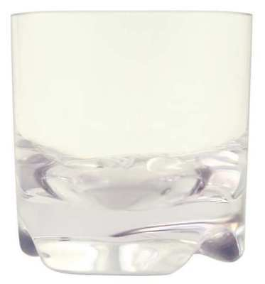 Virtually Unbreakable Rocks Glass, Clear ,Strahl, 100013