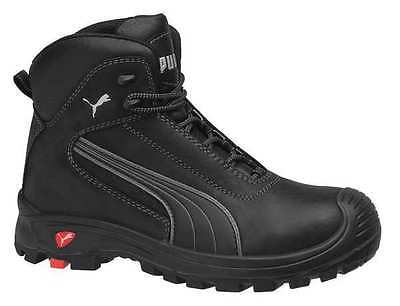 Size 9 Boots, Men's, Black, Composite Toe, EEE, Puma Safety Shoes