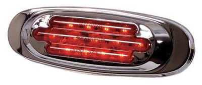 MAXXIMA M72270R Clearance Light, LED, Rd, Surf, Oval, 6-5/8 L