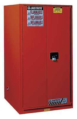 Paint and Ink Safety Cabinet, Red ,Justrite, 896031