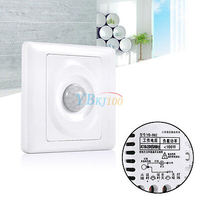 Infrared IR PIR Senser Switch Module Body Motion Sensor Auto On off Light Lamp