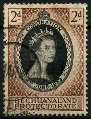 Bechuanaland Protectorate 1953 SG#142 QEII Coronation Used #D43257