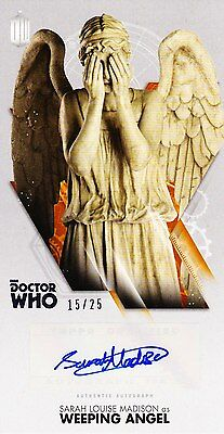 Doctor Who Widevision Autograph Sarah Louise Madison As Weeping Angel (15/25)