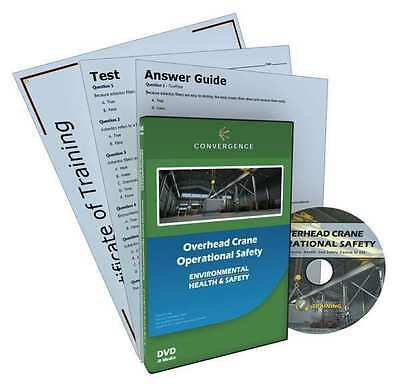 CONVERGENCE TRAINING 423 Overhead Crane Operational Safety DVD