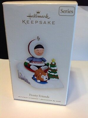 Hallmark Keepsake 2008 Frosty Friends Ornament In Original Box With Price Tab