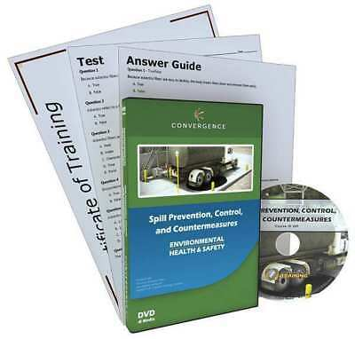 CONVERGENCE TRAINING C-409 DVD, Ops/Maint, Spill Prev Control Counter