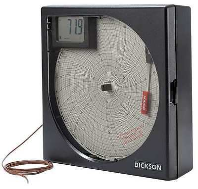 K Thermocouple Temperature Chart Recorder, Dickson, KT8P2