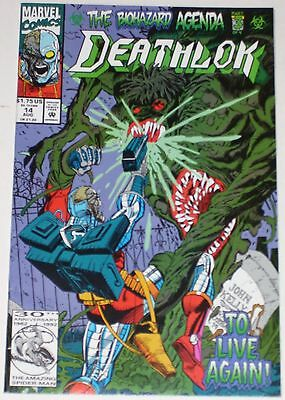 Deathlok #14 from Aug 1992 VF to VF/NM