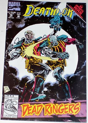 Deathlok #16 from Oct 1992 F to F/VF Infinity War crossover