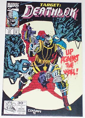 Deathlok #11 from May 1992 VF- to VF+