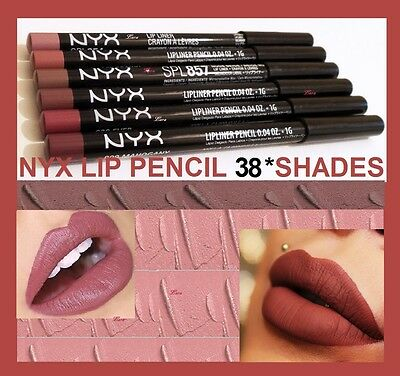 NYX Slim Lip Pencil *Mauve*Choice of *38 colours*new&authentic