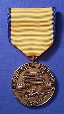 United States China Campaign Medal Usmc Marine Corps                       S8308