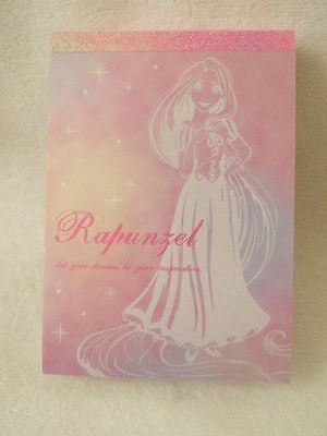 Disney  the tangled Rapunzel mini memo pad 100 sheets
