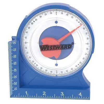 Protractor/Angle Locator, Magnetic, Bule, Westward, 4MRW3