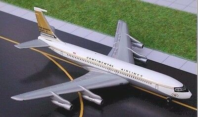 Gemini Jets - Continental Airlines B707-321   GJCOA054  Scale 1:400