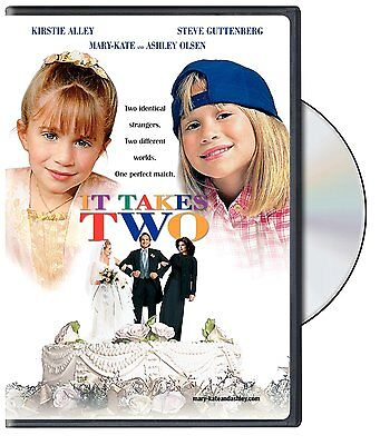 It Takes Two [DVD Movie, Kirstie Alley Mary-Kate & Ashley Olsen] Brand NEW