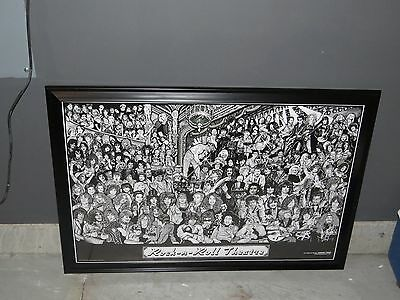 "Rock n Roll Theatre With The Beatles & other Legends 24"" x 36"" Large Poster"