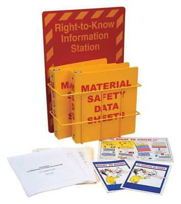 BRADY 106345 Right to Know Compliance Centr, Polystyrn