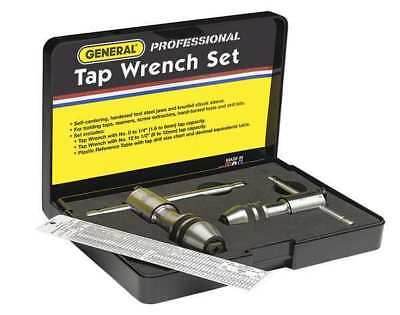 GENERAL 165 Tap Wrench Set, 0 to 1/2 In, 3 pc