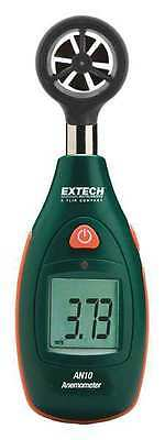 EXTECH AN10 Anemometer, 80 to 3936 fpm, 4000 Count LCD