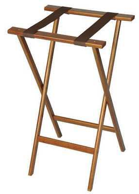 Wood Tray Stand, Walnut ,Csl Foodservice And Hospitality, 1270-1