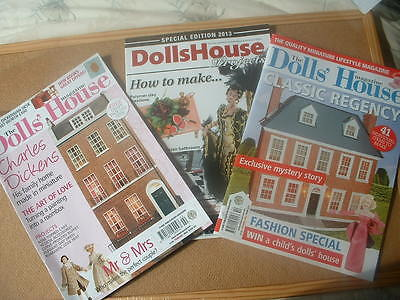 Dolls House magazines x 3
