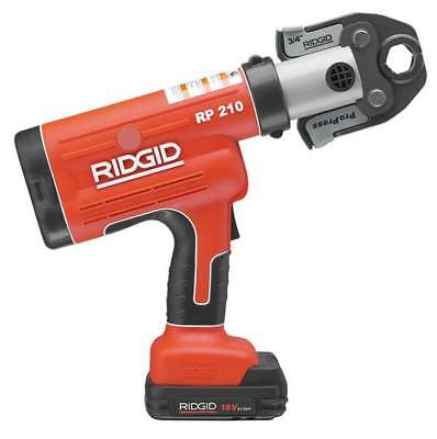 RIDGID 31028 Pressing Tool, 18V, 1/2 To 1-1/4 In Pipe