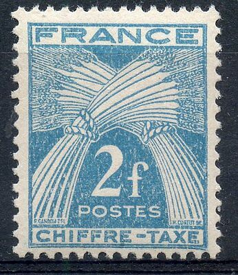 Stamp / Timbre France Neuf Taxe N° 72 **
