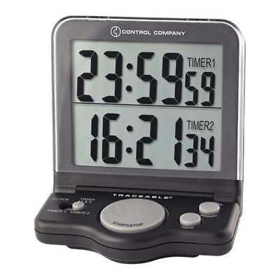 TRACEABLE 5022 Jumbo Timer, 1 In, LCD