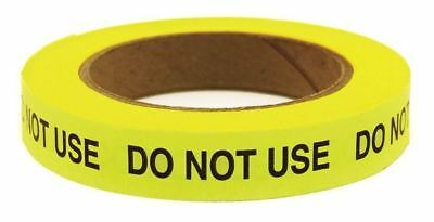 68388 Tape, Do Not Use, Green, 120 ft Roll