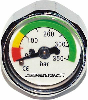 SCUBA DIVERS Minature HIGH PRESSURE HP GAUGE for Pony and Stage CYLINDERS ETC